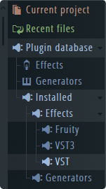 how to find vstplugins