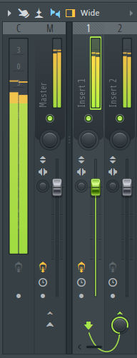 how to send to other mixer unit