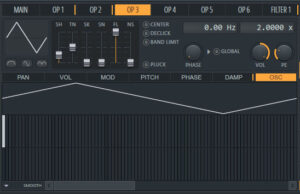 showing example of sytrus fl studio