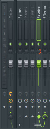 Mixer unit how to change pan to single and send to