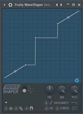 showing how to adjust waveshaper